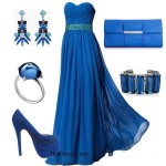 Rochii lungi albastre pentru evenimente speciale