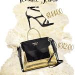 Oferta de geanta cu sandale by Versace Jeans