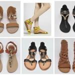 Sandale ieftine cu talpa joasa – un pas spre vacanta