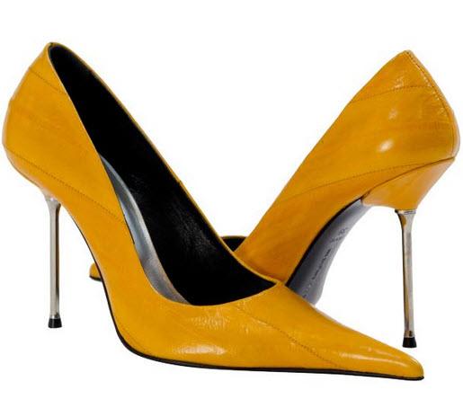 pantofi cu toc stiletto