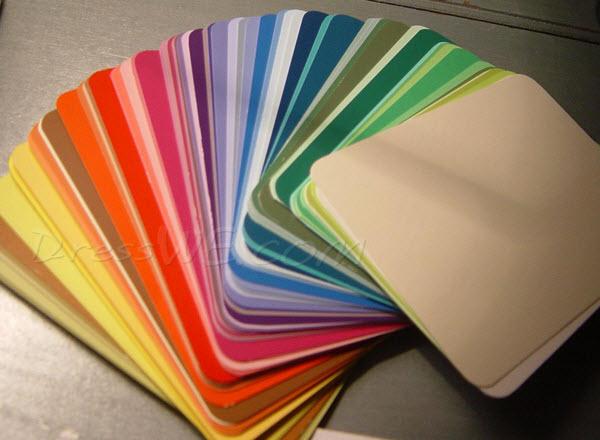 mostre de culori
