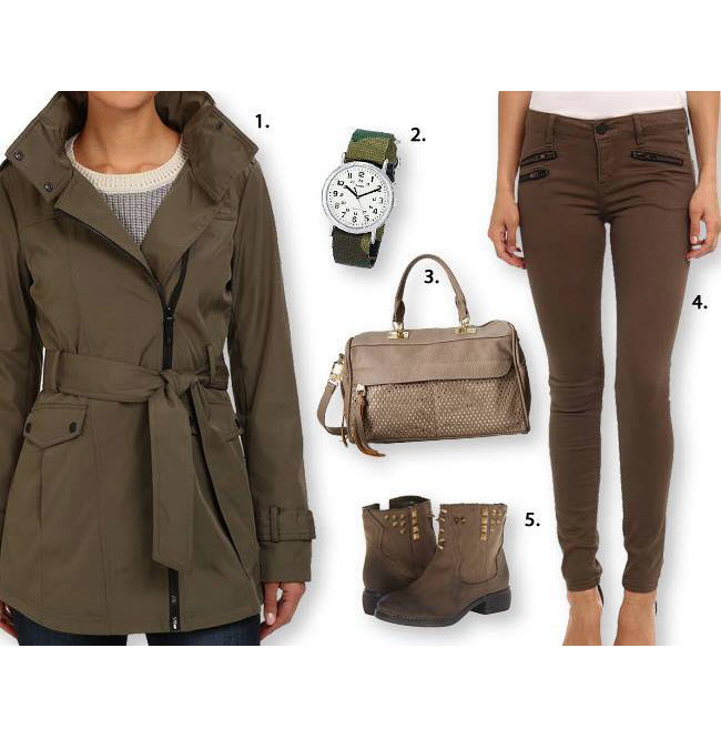 Outfit de toamna cu jacheta si pantaloni