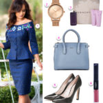 outfit cu compleu bleumarin pentru tinuta office